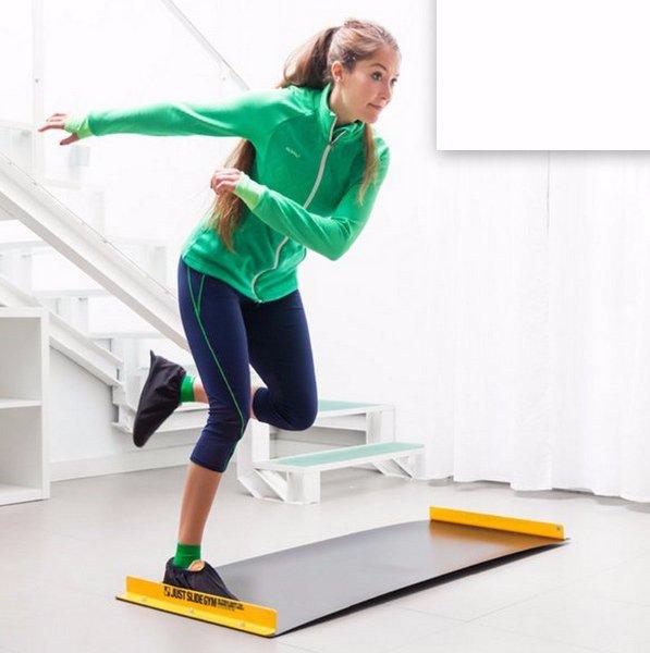 Klouzavá fitness podložka Just Slide Gym