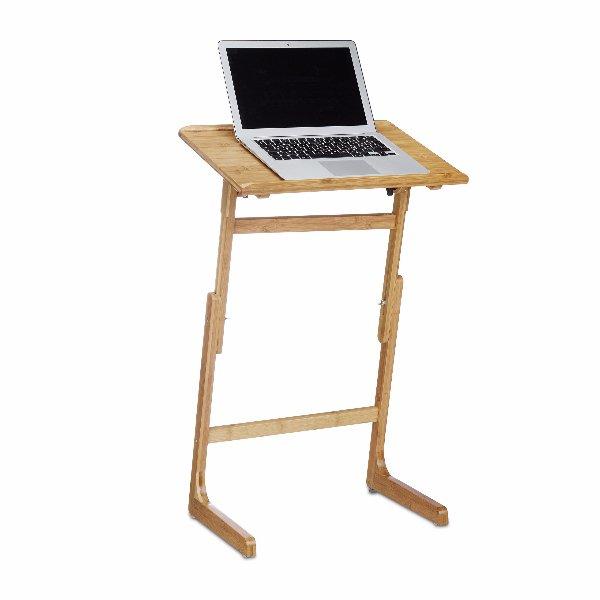 Stolek na notebook bamboo