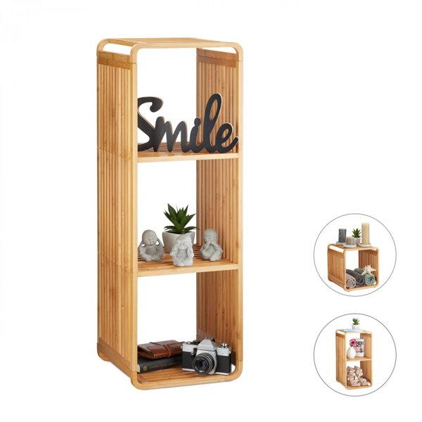 Bambusový Regál Do Koupelny